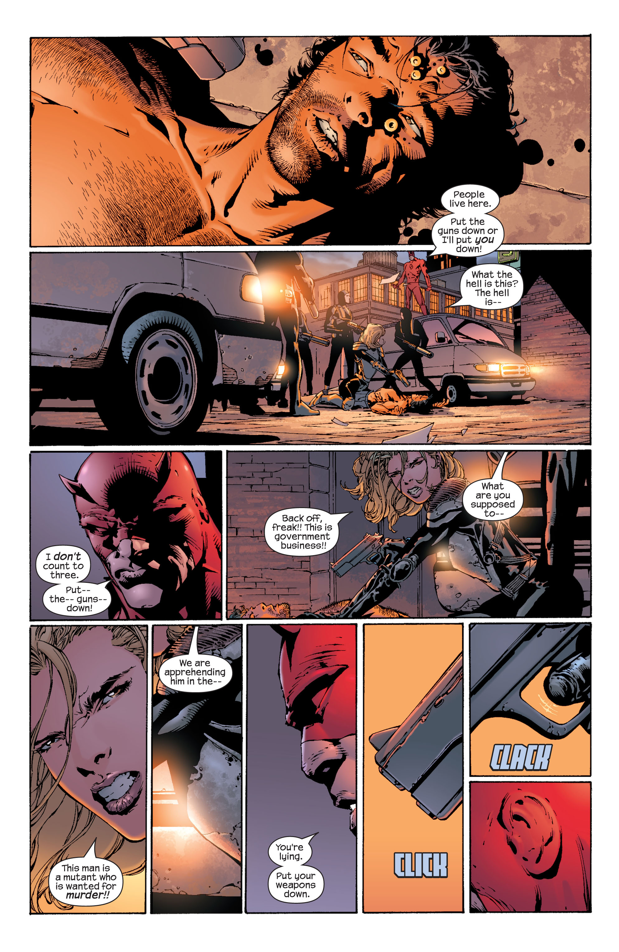 Read online Ultimate X-Men comic -  Issue #37 - 6