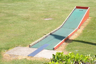 Crazy Golf in Dovercourt, Essex