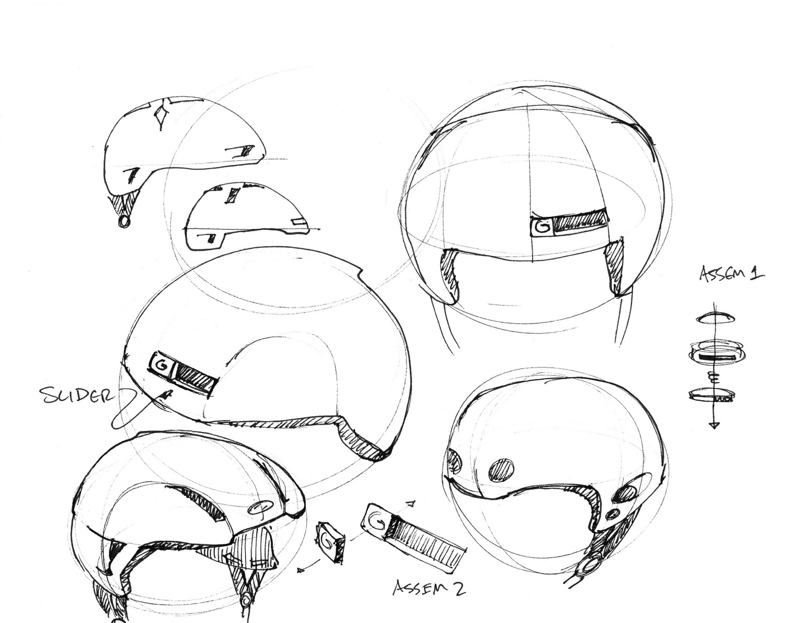 Rye Crowen Design The Helmets
