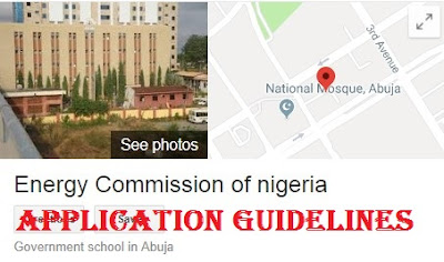 Apply For Energy Commission of Nigeria Recruitment 2018 - How To Apply