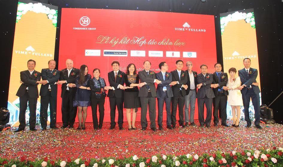 Lễ ký kết hợp tác chiến lược của chủ đầu tư VimeFulland - Vimedimex Buildings