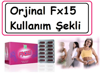 Orjinal Fx15 Kullanım Şekli
