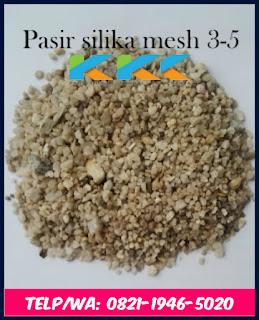 Pasir Silika Mesh 3-5
