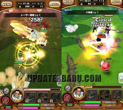 One Piece Thousand Storm Full Apk Version v1.9.3 Android Terbaru