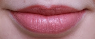 Avon Ultra Colour 3D Plumping Lipstick In The Buff Lip Swatch