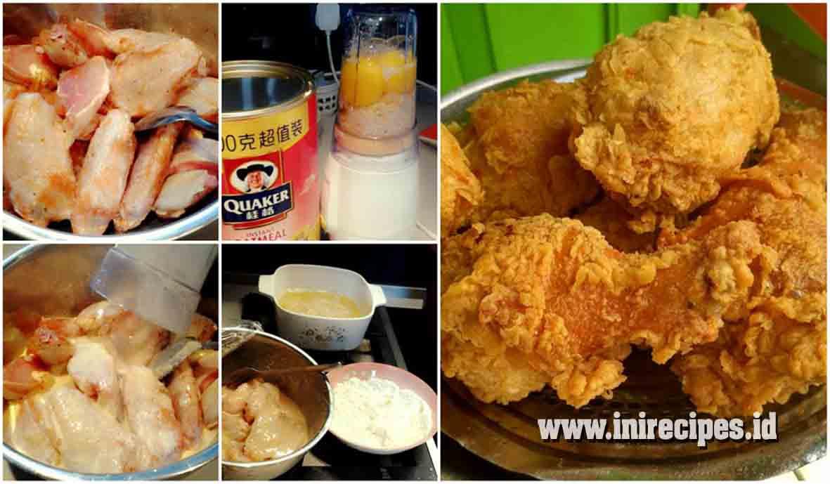 Rahasia Memasak Ayam Goreng ala KFC yang Enak, Gurih, Renyah dan Tahan Lama