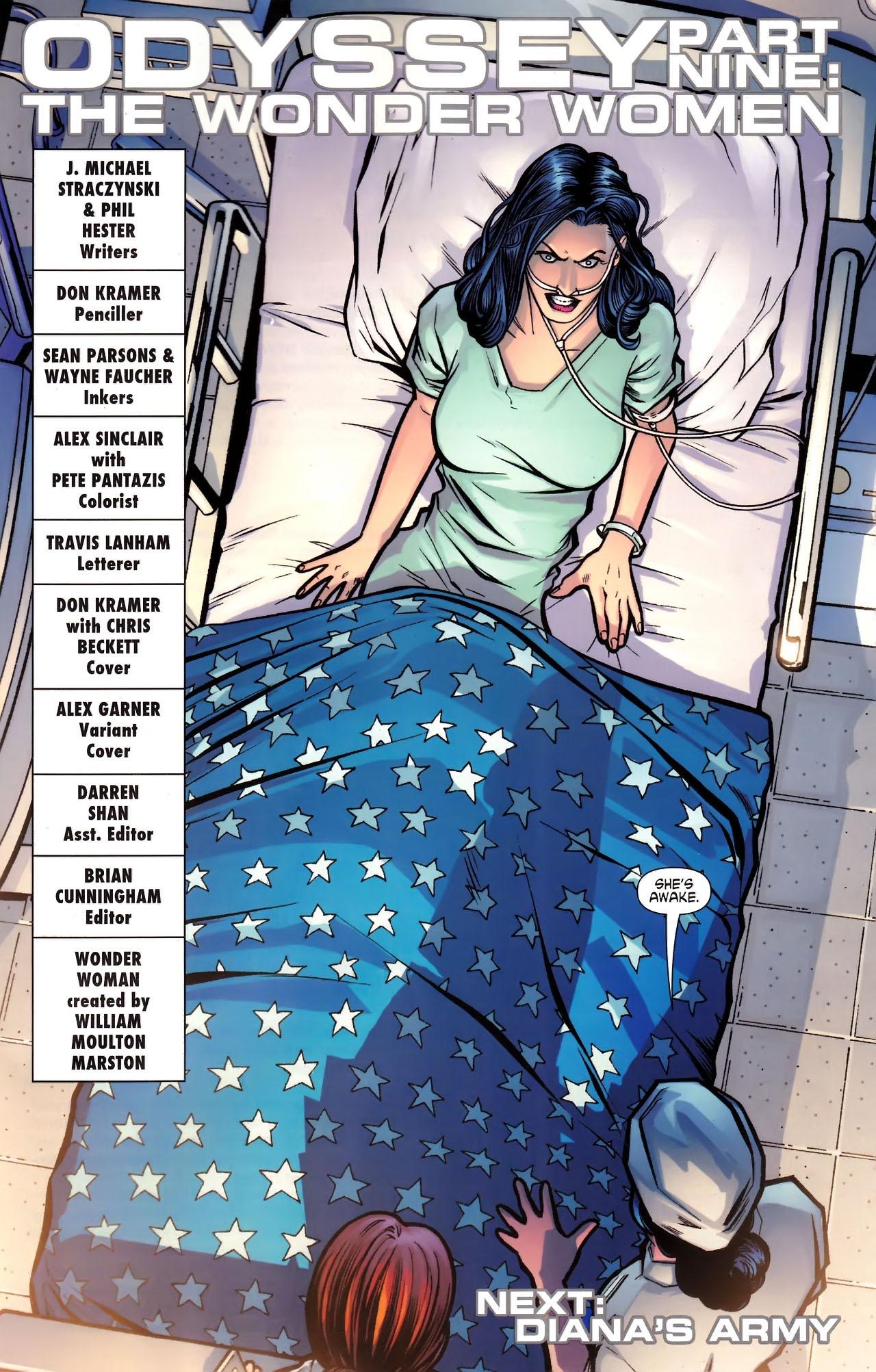 Read online Wonder Woman (2006) comic -  Issue #609 - 21