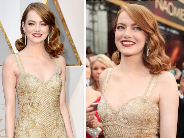 Emma Stone - Look  - Óscares 2017