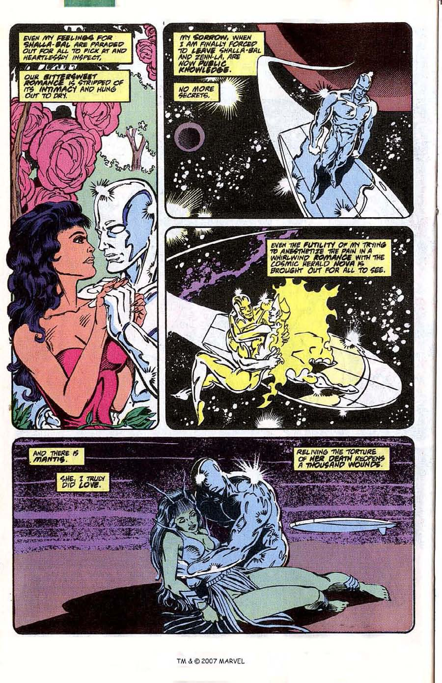 Read online Silver Surfer (1987) comic -  Issue #41 - 26
