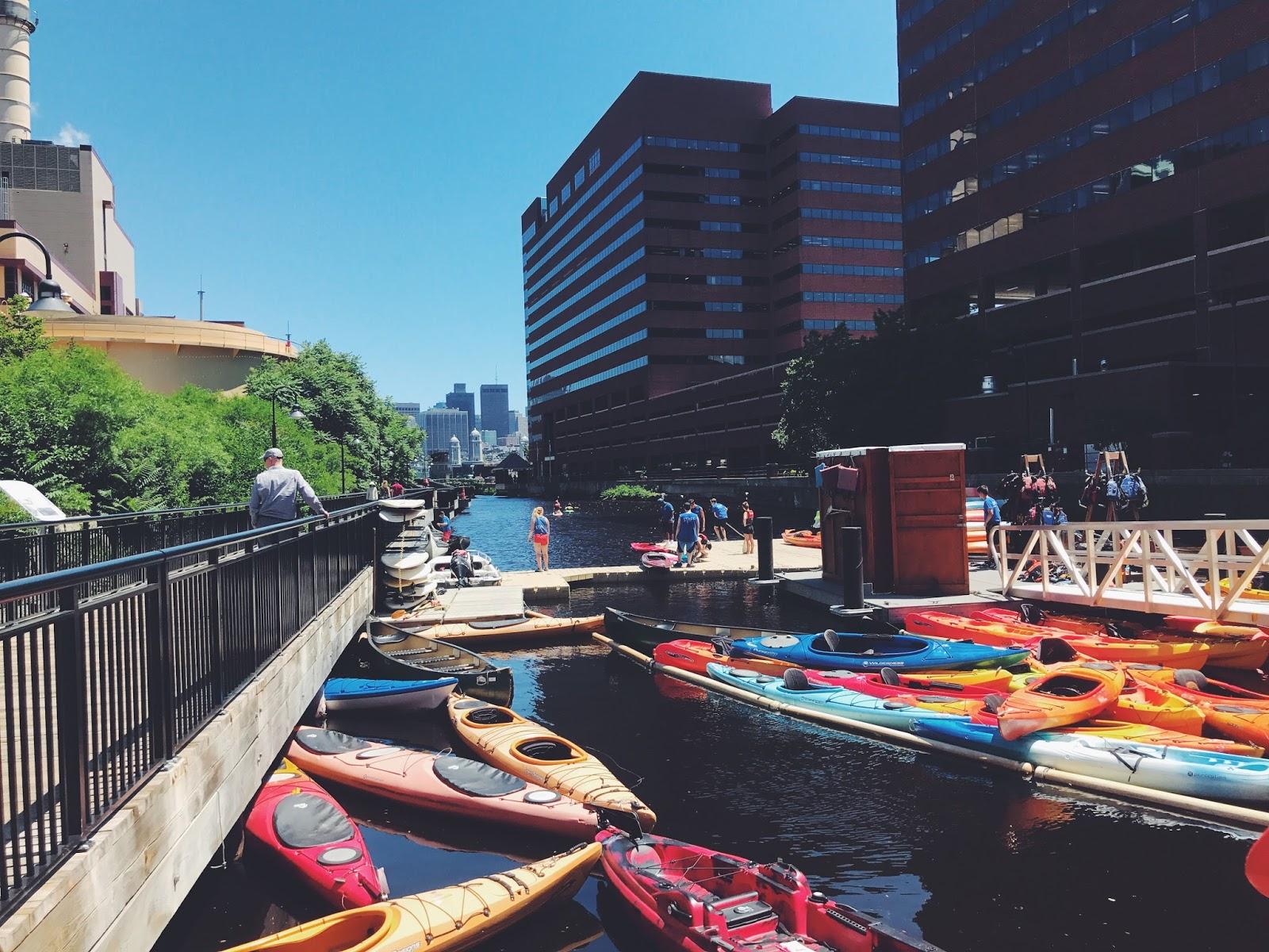 kayak boston charles river