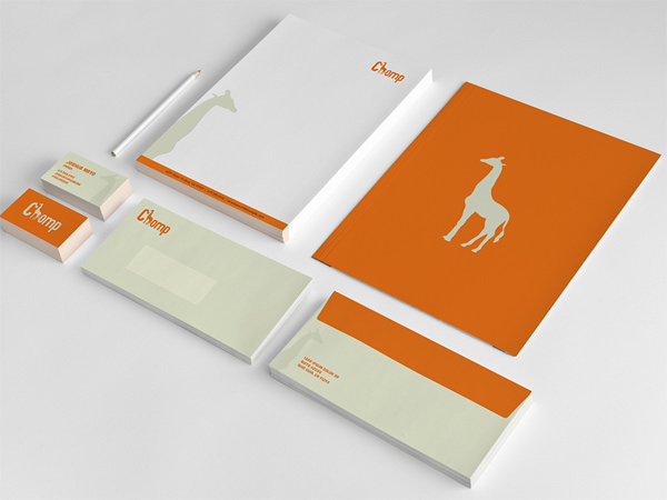 Thiết kế in ấn tiêu đề thư đẹp giá rẻ tại Hà Nội Chomp