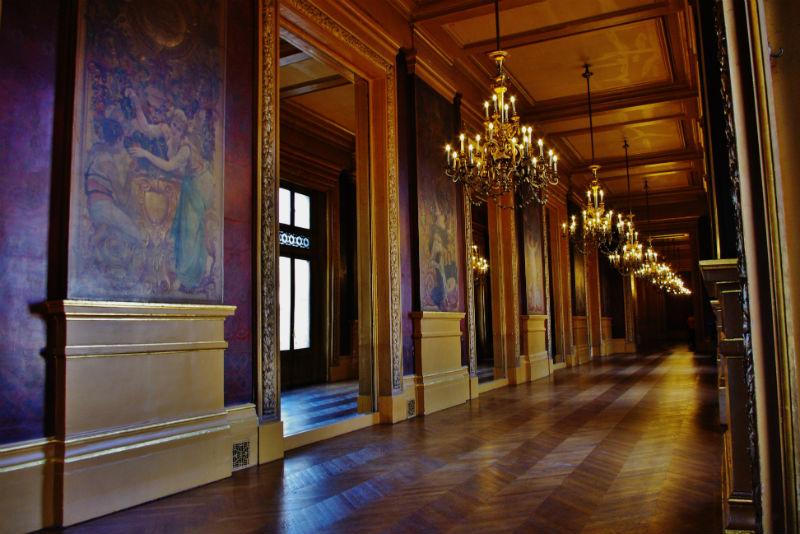 Galería del Glacier de la Ópera Garnier