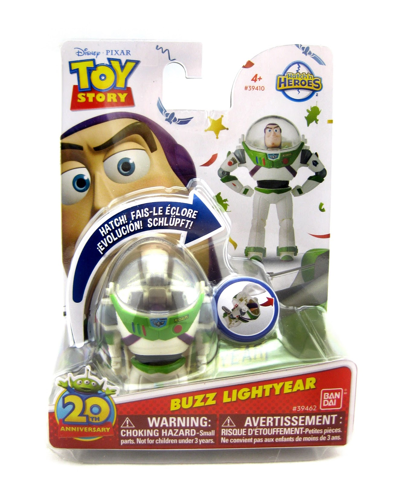 Toy story of terror 1 2 3 buzz lightyear of star command for sale - Hatch N Heroes Buzz Lightyear Toy Story