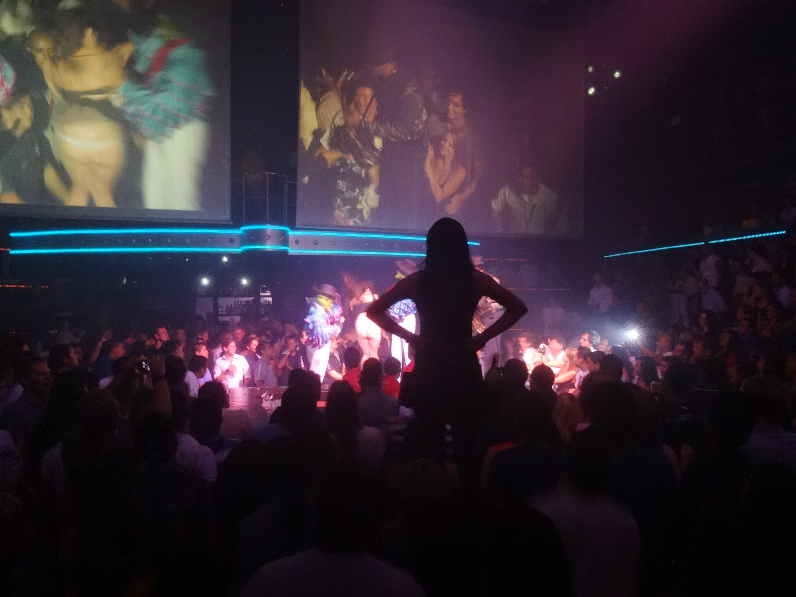 show na boate CocoBongo - Cancún
