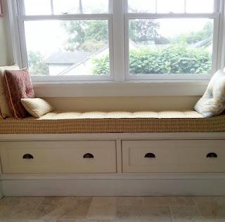 Custom Built-In Window Seat
