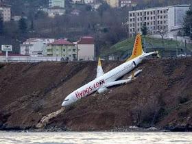 Kuasa Tuhan!! Penumpang dan Kru Pesawat Boeing 737 Turki selamat dari kecelakaan - Responsive Blogger Template
