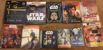 Tóth József Star Wars könyvek