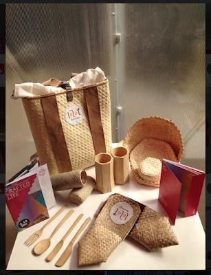 Produk dari brand Leloq dalam pameran internasional