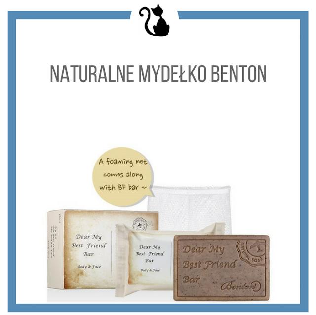 Nowość od Bentona - naturalne mydełko