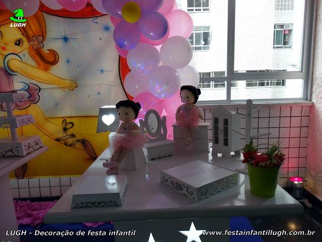 Decoração Bailarinas para festa infantil