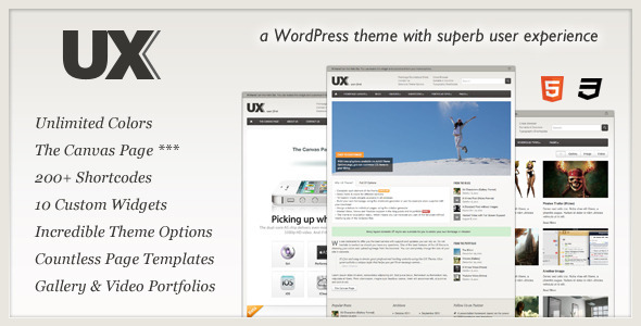 UX - User First Wordpress Theme Free Download by ThemeForest.