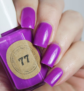Seventy Seven Nail Lacquer Radioactive Orchid