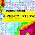 AVISO | Actualización: Vientos y rachas fuertes en el Rio de la Plata, sur y este (Lun 30/5 - Jue 2/6)