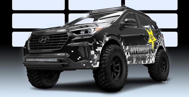 Rockstar Performance Garage Hyundai Santa Fe