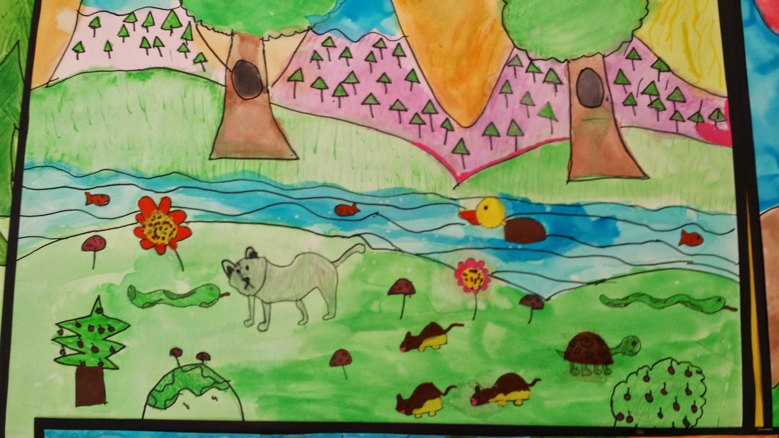 Argenziano Around School Grade 6 Ecosystem Project