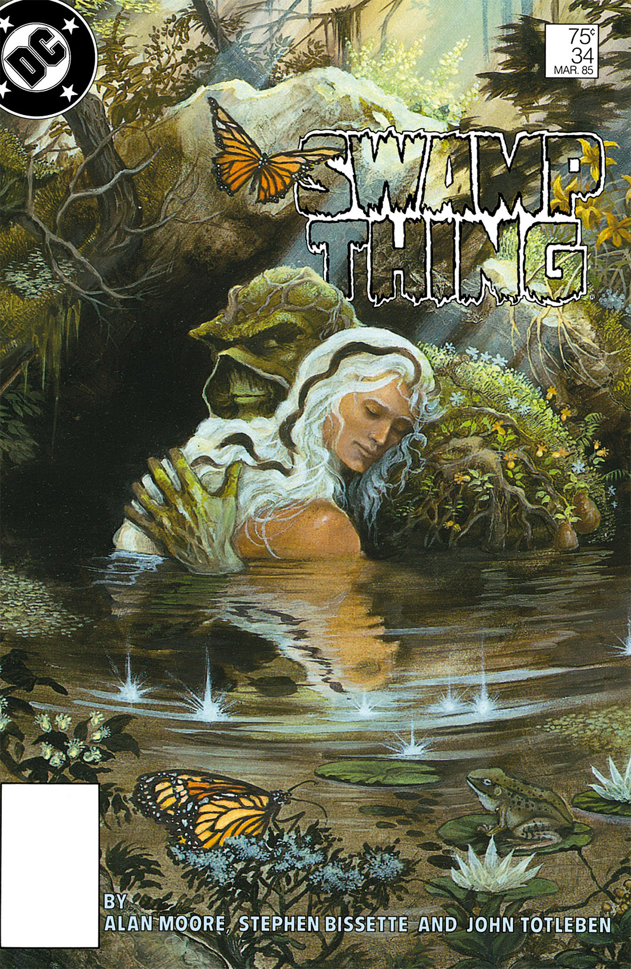 Swamp Thing (1982) Issue #34 #42 - English 1