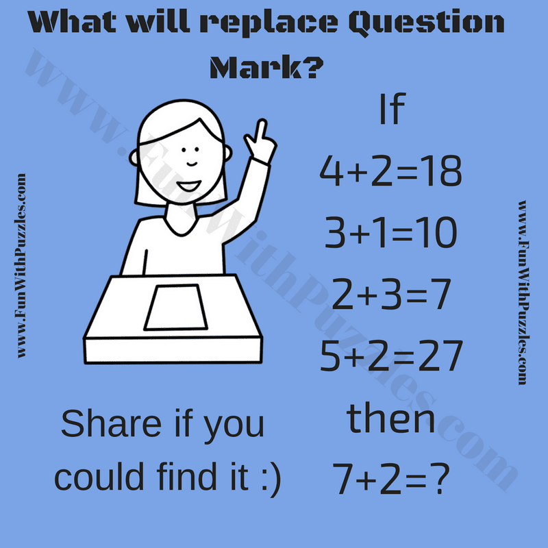Logical Maths Question with Answer - Fun With Puzzles