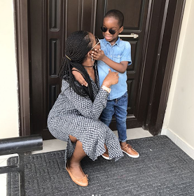 Wizkid's First Babymama Releases New Photos Of Her Son To Mark 'mother's Day1