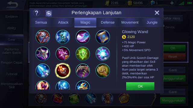 Item Mobile Legends