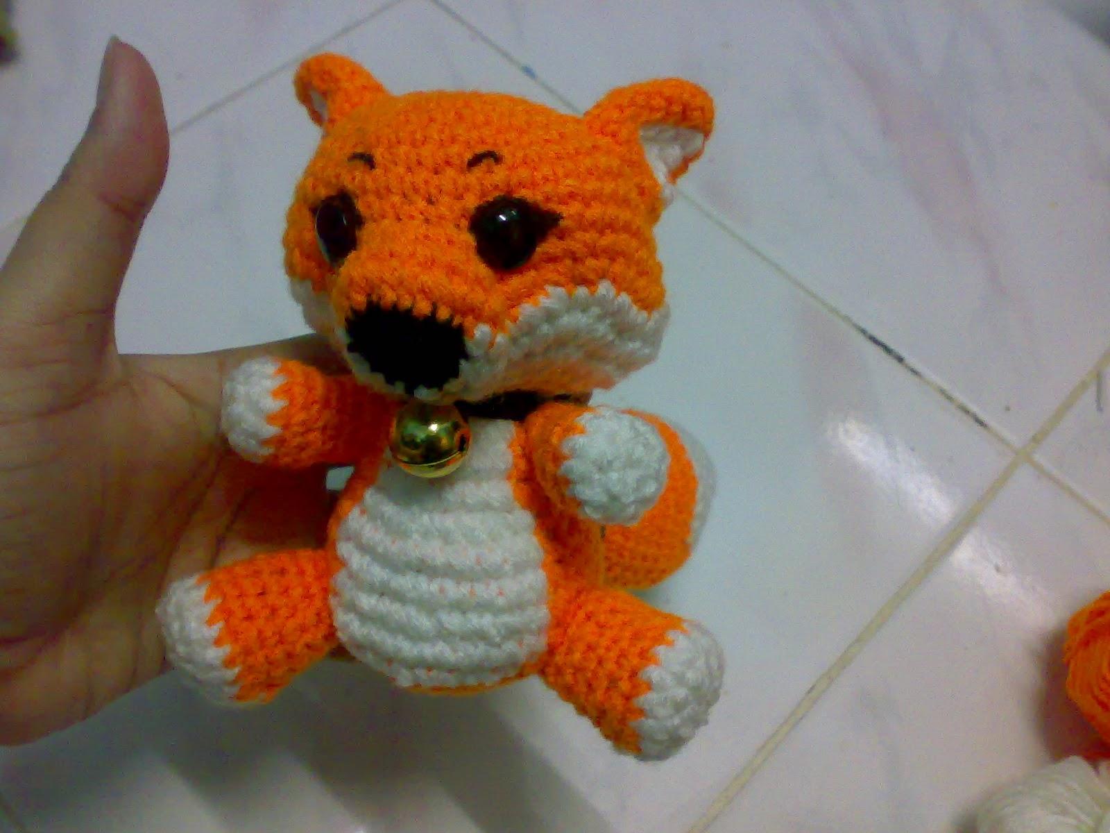 My Skills Guide: Crochet Large Fox Amigurumi