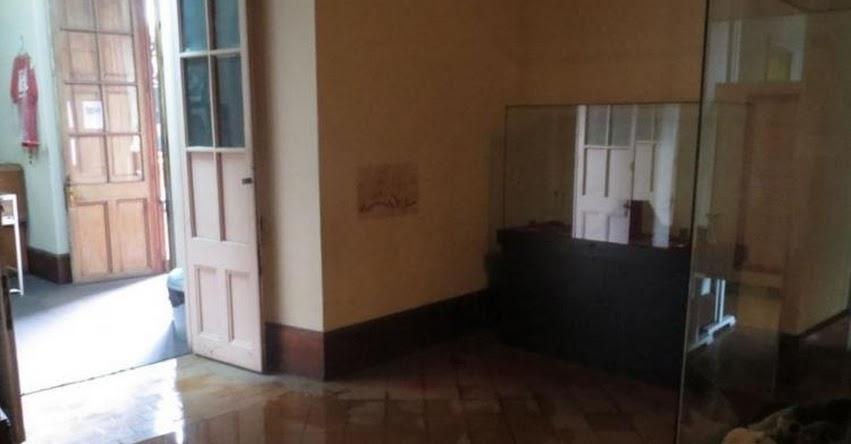 Lluvias causan daños en el Museo de Arqueología de Universidad de Trujillo - La Libertad