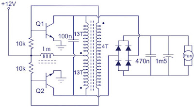 Booster Circuit Diagram