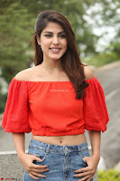 Rhea Chakraborty in Red Crop Top and Denim Shorts Spicy Pics ~  Exclusive 308.JPG
