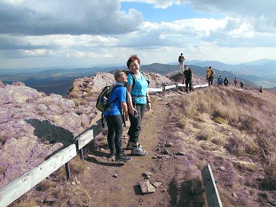 Rozsypaniec (1280 m n.p.m.) - ostatni szczyt na naszym szlaku.