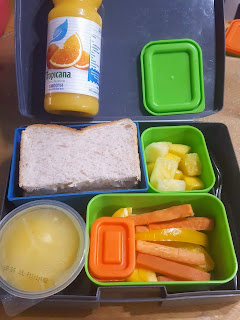 Sunshine Yellow Summer Solstice Lunch Box Idea