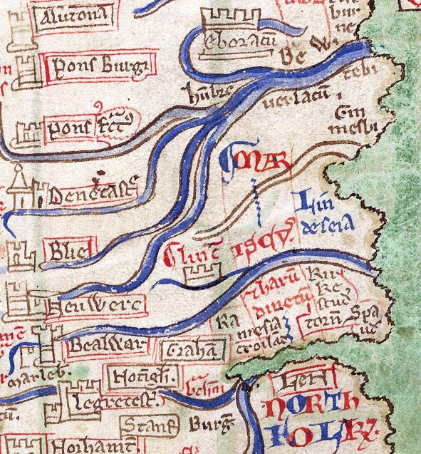 Map Of England 1600.Caitlin Green Some Interesting Early Maps Of Lincolnshire