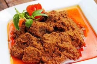 The origin of Rendang food