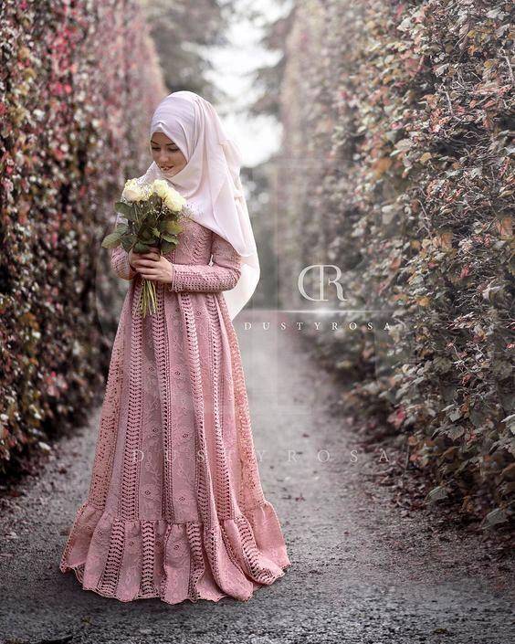 contoh model Busana Muslim Barokat