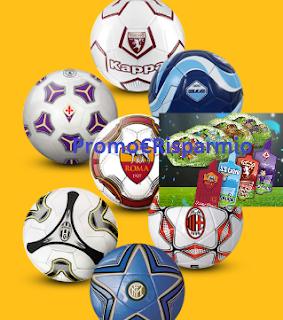 Logo Concorso ''Retina dei Campioni'': vinci 210 palloni delle squadre di calcio