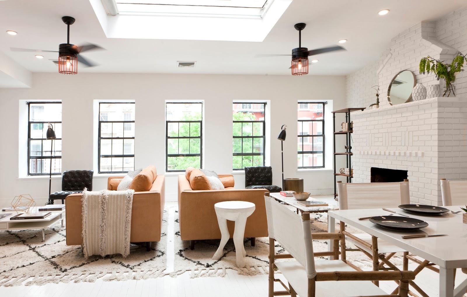 Killer Combo: Black, White, & Caramel : Shop My Soho Design For Less — JWS  Interiors
