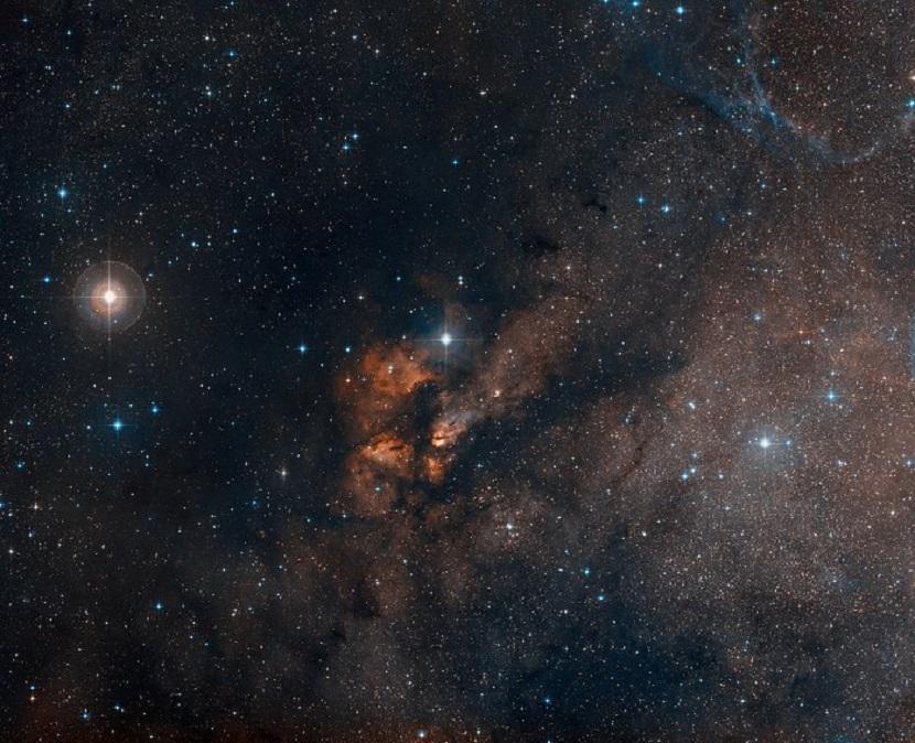 Cúmulo estelar RCW 38