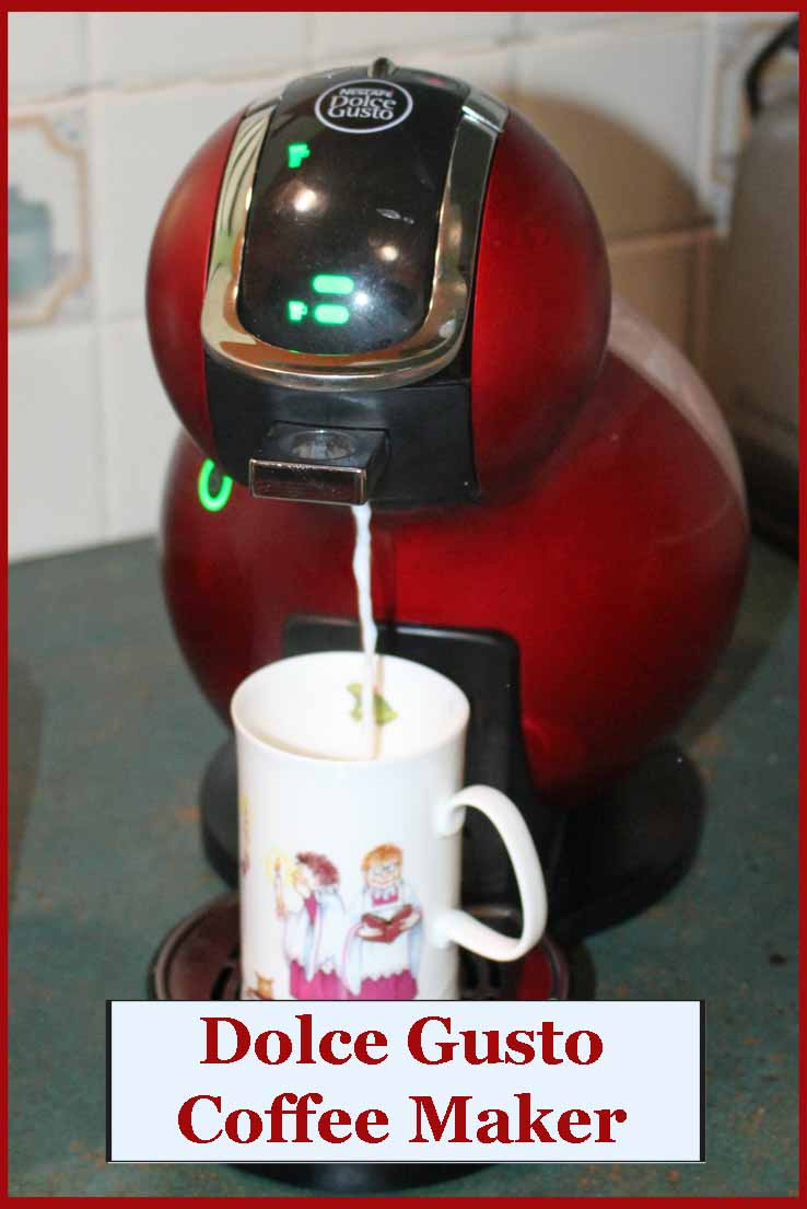 Mom s New Nescafe Coffee Machine
