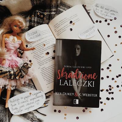 [Book Tour]: Skradzione laleczki - Ker Dukey, K. Webster