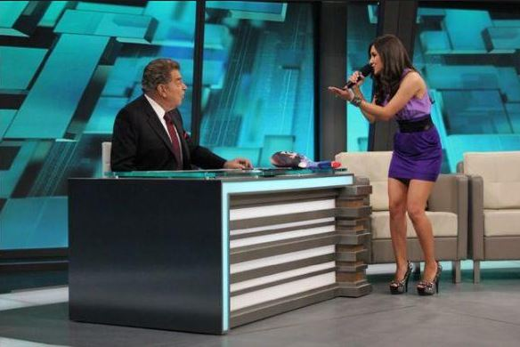 Sherlyn Visita a Don Francisco