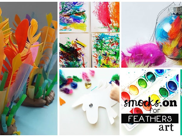 Best of Smocks: Feathers Art