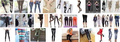 Celana Legging Wanita yang Stylish